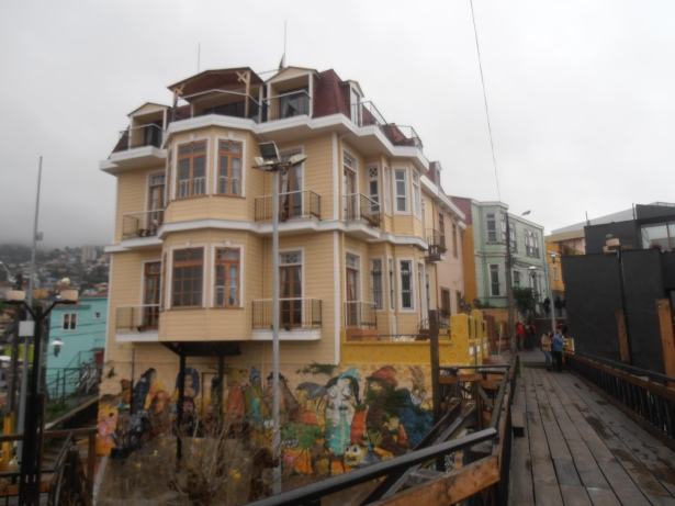Valparaiso - historic quarter